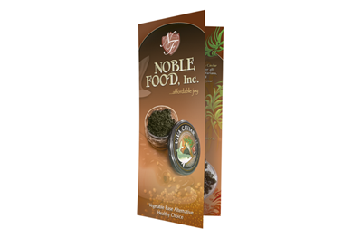 Noble Foods Inc – Brochures