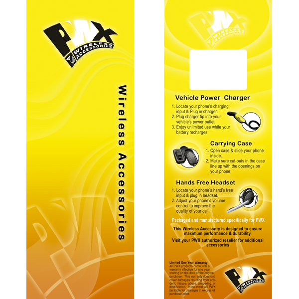 Platinum Wireless – Packaging & Labels